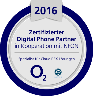 o2 Digital Phone Zertifikat